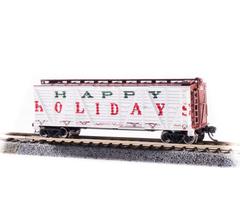"Broadway Limited #6587 Holiday Season Stock Car ""Happy Holidays"" Holiday Sounds"
