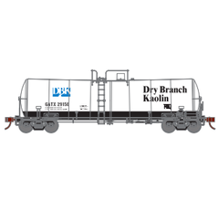Athearn #16352 16K Clay Slurry Tank Car - Dry Branch Kaolin #29166