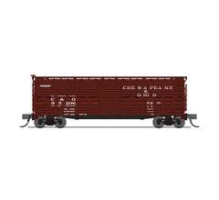 Broadway Limited #6571 C&O Stock Car Hog Sounds