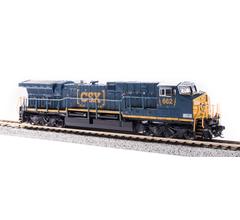 Broadway Limited #6274 GE AC6000 CSX #662 Boxcar Scheme Paragon3 Sound/DC/DCC