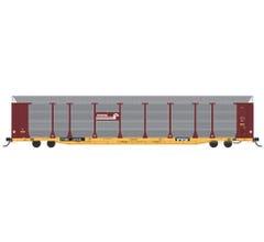 InterMountain #452104 Bi-Level Autoracks- Conrail - Brown No Quality Logo - TTGX Flat Car