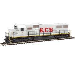 Walthers #910-20358 EMD SD50 w/DCC/Sound - Kansas City Southern #711