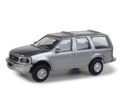 Walthers 949-12043 Ford Expedition Special Service Vehicle (SSV) - Silver Unmarked Unit
