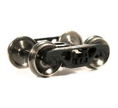 Atlas #9025 70 Ton Roller Bearing Wheels w/ Metal Wheels