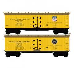 Atlas #50005502 40' Wood Reefer - PACIFIC FRUIT EXPRESS #34484