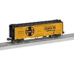 Lionel #2026061 Santa Fe #14180 - 40' Plug Door Reefer