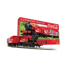 Hornby #R1276T Coca-Cola Train Set