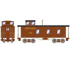Athearn Roundhouse #17957 30' 3-Window Caboose UP #2278