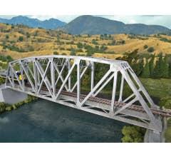 Walthers #933-4521 Arched Pratt Truss Railroad Bridge - Single Track - Kit