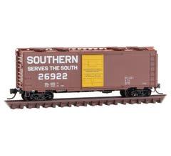 Micro Trains 02000257 SOU Southern 40' Box Car Rd# #26922