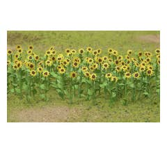"JTT #95524 Sunflowers 2"" O Scale (16)"