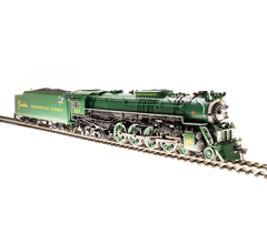 """Broadway Limited #4909 C&O J3a 4-8-4 #614 """"The Greenbrier Presidential Express"""" w/ Paragon3 Sound/DC/DCC HO"""