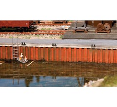 Walthers #949-4150 Harbor Wall Kit (2 pckg)