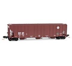 Micro Trains #09900140 100-Ton 3-Bay Covered Hopper - Burlington Northern Santa Fe