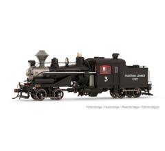 Rivarossi #HR2881S Heisler Steam Locomotive - Pickering Lumber Corp. #3 w/DCC sound