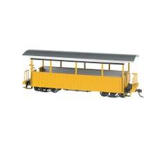 Bachmann #26003 Excursion Car Yellow w/Silver Roof