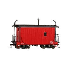 Bachmann #26562 Spectrum On30 Logging Caboose - (Red)