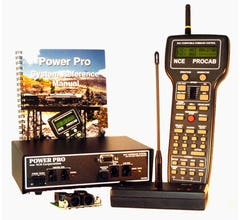 NCE# 524002 (PH-PRO-R) Power Pro Starter Set with Radio, 5A