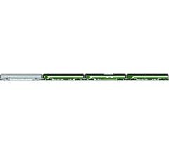 Lionel #6-84045 Burlington Northern 21' Passenger Car 4 pack
