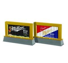 Lionel #6-83438 MillerCoors Blinking Light Billboard