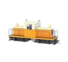 Bachmann #29202 Whitcomb 50-Ton Center-Cab Diesel - DCC on board Sound Ready - Unlettered Orange/Cream