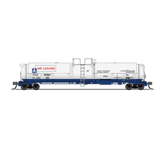 Broadway Limited #3822 Cryogenic Tank Car Air Liquide 2-pack