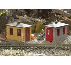 PIKO #62718 Railroad Tool Shed 2 Pack Built Up