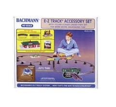 Bachmann #44493 Steel Alloy Accessory Set- Black Roadbed