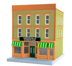 MTH 30-90617 Greenville Hardware 3 Story Building 1