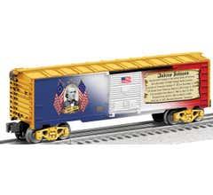 Lionel #25931 Andrew Johnson Boxcar
