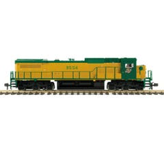 MTH #70-2129-1 C&NW Dash 8 Narrow Nose Diesel Rd# 8554 with Proto-Sound 3.0