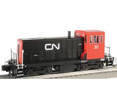 Williams #23502 GE 70-Ton Switcher w/True Blast Plus Canadian National #30
