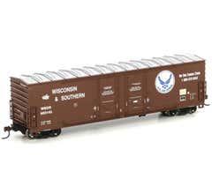 Athearn #96924 50' DD Plug Box WSOR/USAF