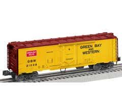 Lionel #2026082 Green Bay & Western #21038 - 40' Plug Door Reefer