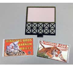 Miller Engineering #44-2952 Circus Billboard Small