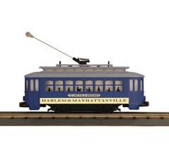 MTH #30-5207  Bump-n-Go Trolley - Harlem & Manhattanville (Trainworld)