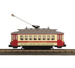 MTH #30-5208  Bump-n-Go Trolley - City Hall to Central Park (Trainworld)