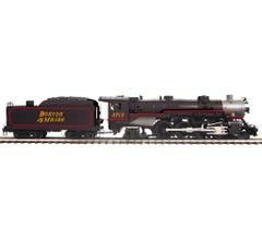 MTH #20-3816-1 4-6-2 USRA Heavy Pacific Steam Engine w/Proto-Sound 3.0 - Boston & Maine Cab # 3713