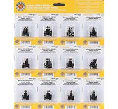 Bachmann #42534-12 Friction Bearing Freight Trucks Without wheels (12 packs)