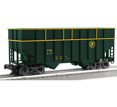 Lionel #3-17290 ACF 3 Bay Woodchip Hoppers-Portland Terminal- 6 Pack