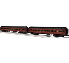 Lionel #6-85006 Pennsylvania Reading Seashore Line Heavyweight Coach 2 Pack #2