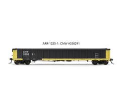 "Arrowhead Models HO ARR-1225-1 CNW #350291 Greenville 2494 ""Railgon"" Gondola"