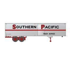 Rapido #403052 40' Fruehauf Fluted Side Volume Van - Southern Pacific