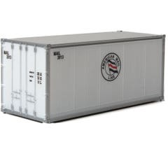 Walthers #949-8660 20' Smooth-Side Container - American Mail Line