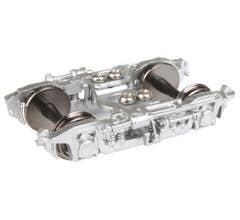 "Walthers #920-2103 PROTO 2000 GSC 41-HR Passenger Trucks w/36"" Metal Wheels - 1 Pair -- Silver"