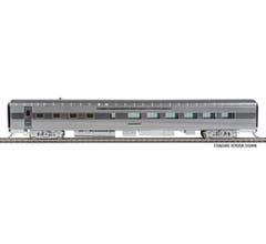 Walthers #920-9629 85' Pullman-Standard 36-Seat Diner - Santa Fe #600 (Real Metal Finish)