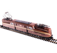 Broadway Limited #6365 PRR GG1 Electric #4929 Tuscan Red 5-Stripe Buff Lettering & Stripes Roman Lettering Paragon3 Sound/DC/DCC