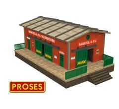 Williams #39120 O Scale Warehouse w/Motorized Working Doors