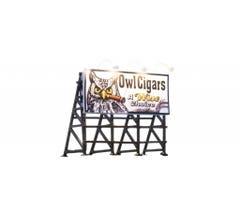 Woodland Scenics #JP5795 Wise Tobacco Billboard