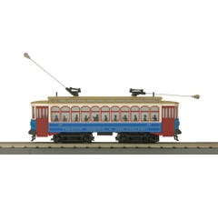 MTH #30-5170-1 Brill Semi Convertible Trolley With Proto-Sound 3.0- Trenton, Tristol & Philadelphia